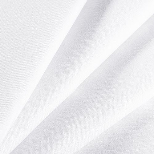 Neewer 6x9 feet/1.8x2.8 meters Photo Studio 100 Percent Pure Polyester Collapsible Backdrop Background for Photography, Video and Television (Background Only) - White
