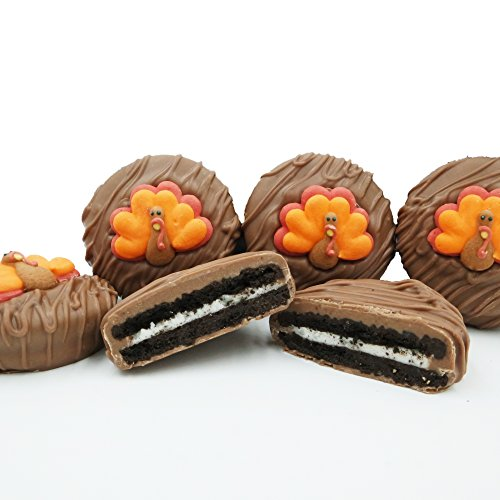 Thanksgiving Tom Turkey Milk Chocolate Covered OREO Cookies