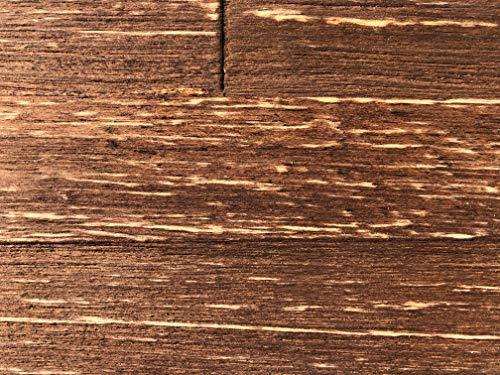 mywoodwall 3D Wandverkleidung Holz Braun Inkl Doppelseitiges Klebeband Chestnut Moderne Wandpaneele Selbstklebend Vintage Wohnzimmer Schlafzimmer Garderobe 0,945 m²