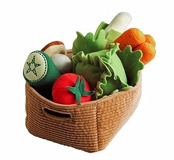 Ikea Duktig Play Food Set Soft Toy Kids Children 14 Pc Vegetables  Original Version