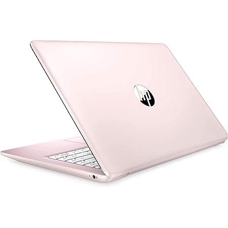 "2021 HP Stream 14"" HD Thin and Light Laptop, Intel Celeron N4000 Processor, 4GB RAM, 64GB eMMC, HDMI, Webcam, WiFi, Bluetooth, 1 Year Office 365, Windows 10 S, Rose Pink, W/ IFT Accessories"