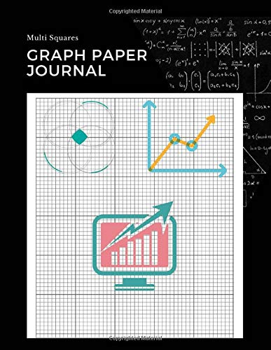 Multi Squares Graph Paper Journal: 10 Square Per Inch, Notebook Graphing Composition Math Science Journal College Ruled Grid Minimalist Art For ... Diary Creative Design For Engineer (Vol.7)