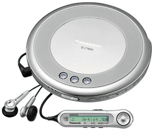 Panasonic SL-CT800-S ポータブルCDプレーヤー (シルバー)