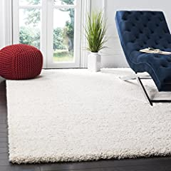 Safavieh's beautifully soft and cozy Milan shag rug with 2,000+ customer reviews High density polypropylene pile provides one of the plushest feelings available in a rug Textured extra thick 2 inch pile height furnishes exceptional sink in comfort Ma...