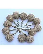 antiquegifts2019 12 Knotty Deurknoppen - Nautische Lade trekt - Jute Rope Drawer trekt