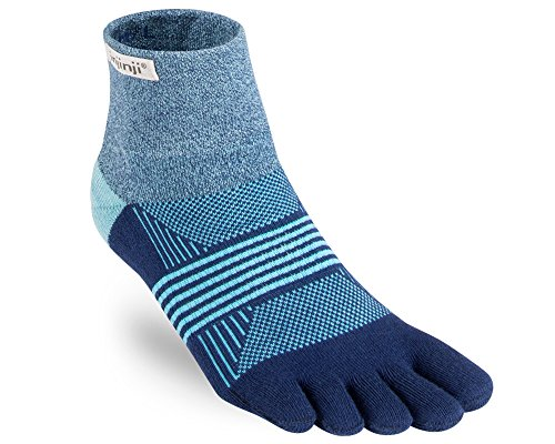 Injinji Women's Trail Midweight Mini-Crew Socks