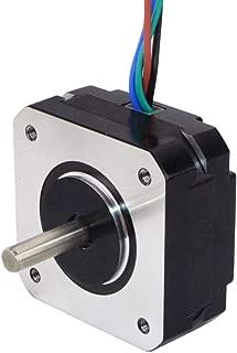 STEPPERONLINE Short Body Nema 17 Bipolar Stepper Motor 1A 18.4oz.in/13Ncm DIY CNC Extruder