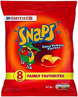 Smiths Snaps Spicy Tomato Snacks 13g x - 8 per pack