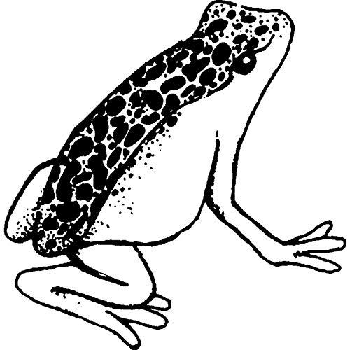 Azeeda A8 'Gesprenkelter Frosch' Stempel (Unmontiert) (RS00024537)