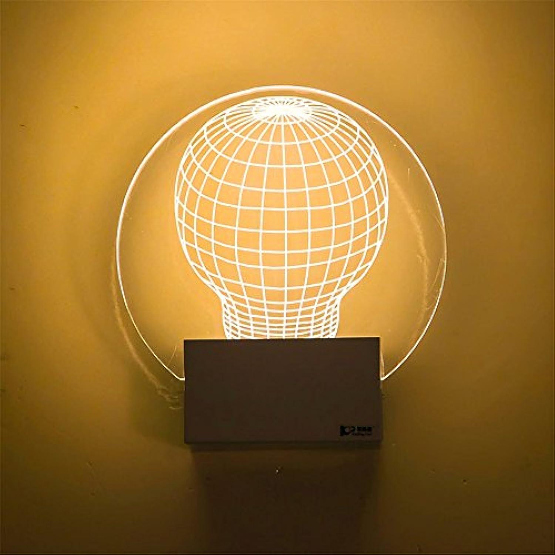 Modern LED Led wandleuchte nachttischlampe flur lampe acryl geschnitzte mode kunst wandleuchte gang kinderzimmer durchmesser 18 cm hoch 16 cmHaus, Bar, Restaurants.Vintage Retro Café.