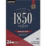 1850 Trailblazer, Dark Roast Coffee, K-Cup Pods for Keurig Brewers, Trailblazer, 24 Count