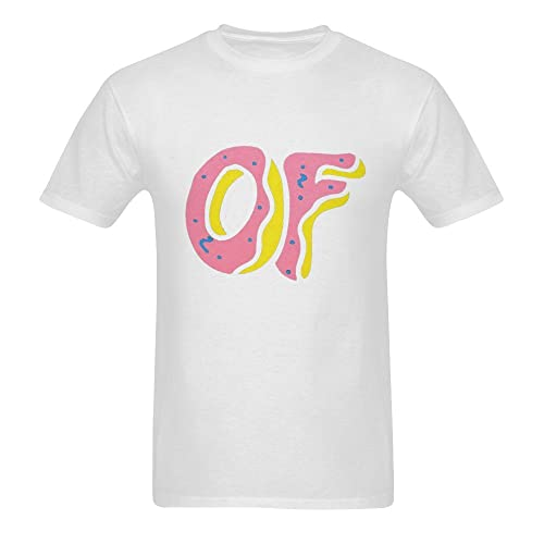 4176d74a867f Men s Cotton Graphic Tee Print T-Shirt - Golf Wang - Black White