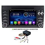 TAFFIO Android 9 Autoradio Touchscreen GPS Navigation DVD USB mit Most Adapter für Porsche Cayenne...