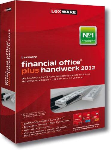 Lexware Financial Office Plus Handwerk 2012 (Version 12.00) (benötigt Zusatzupdate ab 01.06.2012) [import allemand]