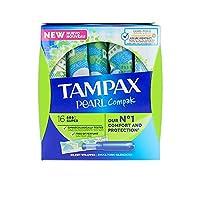 Tampax Compak Pearl Super 18 Unidades