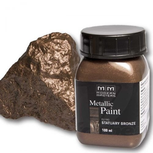 Statuary Bronze Metallic Paint 100ml Modern Masters Metalleffektfarbe Metallfarbe