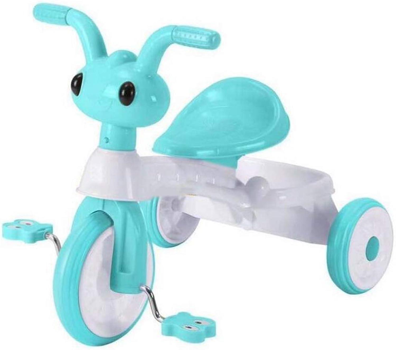 cómodamente YUMEIGE triciclos Triciclo para para para Niños de 1 a 5 años Cumpleaños de Regalo para Niños Niño Trike Peso de Cochega 50 kg con Cesta de la Compra de Gran tamaño Disponible (Color   verde)  precios al por mayor