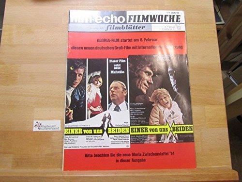 Film-Echo Filmwoche vereinigt mit Filmblätter, Nr.3, 16. Januar 1974 Gert Fröbe Der Räuber Hotzenplotz