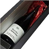Calledelregalo Regalo Personalizable para Parejas por Sus Bodas de Plata: Botella de Vino Personalizada con Sus Nombres y la dedicatoria Que tú Quieras
