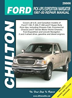 Ford Pick-ups, Expedition, and Navigator, 1997-00 (Chilton's Total Car Care Repair Manual)