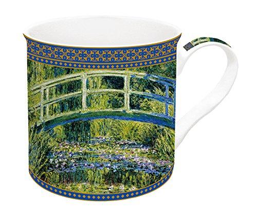 Jd Diffusion 170mon1Cofanetto con Monet Tazza Ceramica Multicolore 13,8x 13x 10,2cm