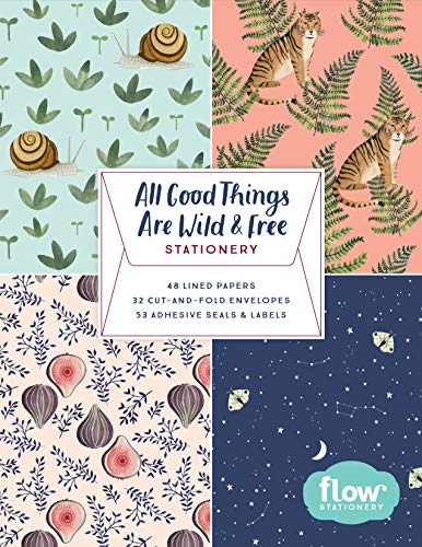 All Good Things Are Wild and Free - Stationery