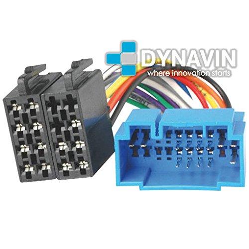ISO-HON.2000- Conector iso universal para instalar radios en Honda, Acura, Fiat, Opel y Suzuki.