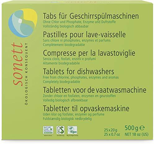 Sonett Bio Tabs f. Geschirrspülmaschine (6 x 500 gr)