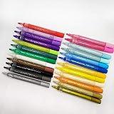 Juego de bolígrafo de pintura, bolígrafo de color DIY, marcador acrílico, graffiti, tarjeta negra, marcador Bingshi