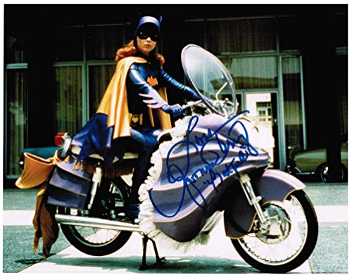 Yvonne Craig as Batgirl Genuine Autograph from the Batman '66 TV Show Signed 8' x 10' Autographed Photo A