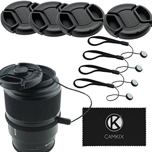 CamKix Lens Cap Bundle - 4 Snap-...