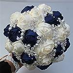 usix-handcraft-popular-satin-rose-rhinestone-brooch-flower-pearl-bridal-holding-wedding-bouquet-wedding-flower-arrangements-bridesmaid-bouquet