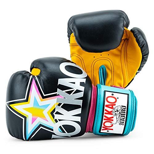 12oz Blue 10oz Yellow YOKKAO Matrix Breathable Muay Thai Boxing Glove 16oz Gloves Green White 8oz Red 14oz Black Petroleum Grey