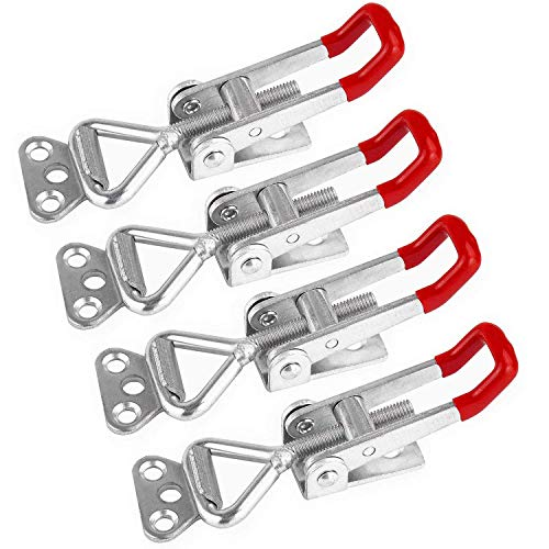 Pull Latch, Favordrory Toggle Latch Clamp 4001,100Kg 220Lbs Holding Capacity (4PCS)