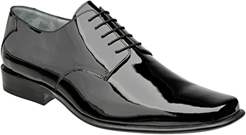 Franco Cuadra Patent Patent Leather chaussures for Hommes  juste l'acheter