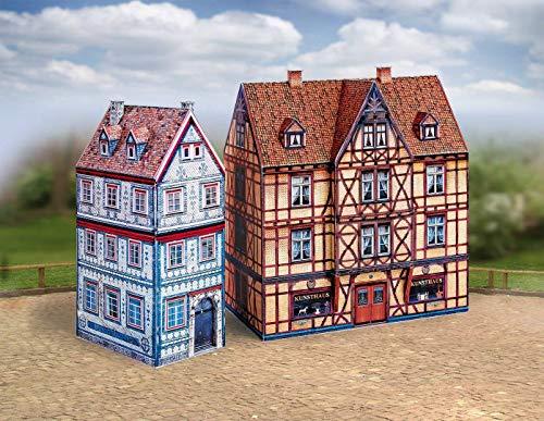 Aue Verlag 15x 9x 17cm, Kit de Modelo Old Town (7Piezas