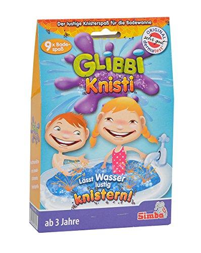 Simba 105954745 glibbi knisti Pack de 9 Multicolore