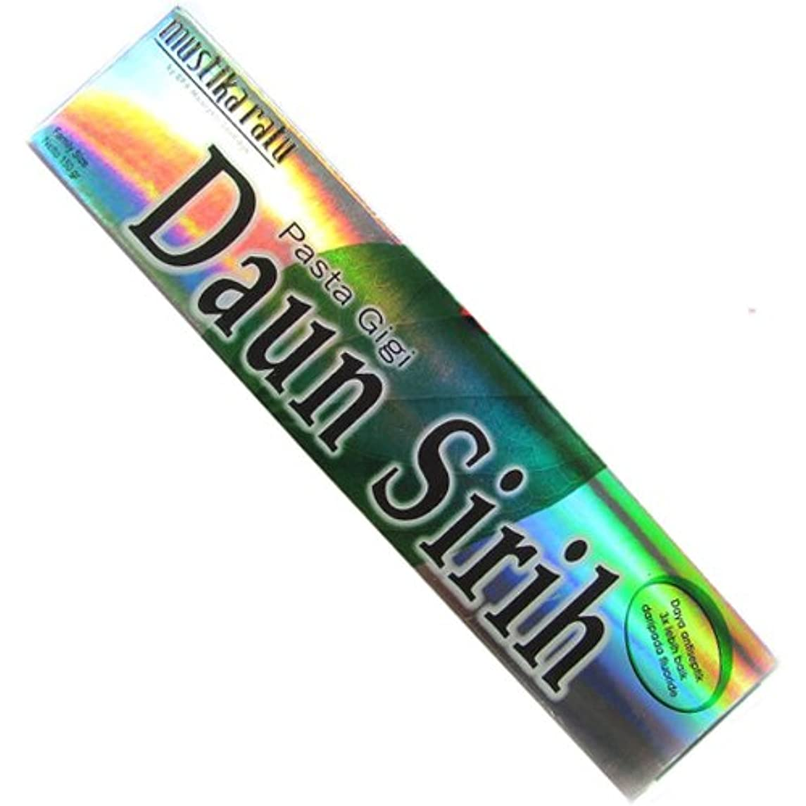 まつげ言うビクタームスティカラトゥ?Daun sirih(ダウンシリ)歯磨き粉150g[並行輸入品][海外直送品]