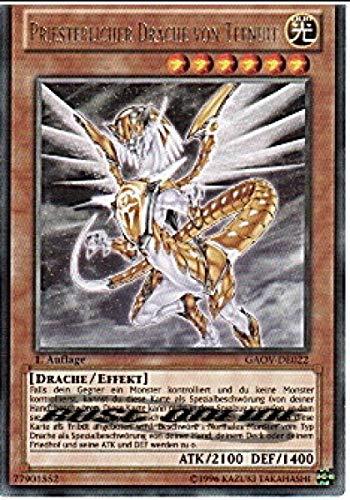 Konami GAOV-DE022 Priesterlicher Drache von Tefnuit (Rare) 1. Auflage