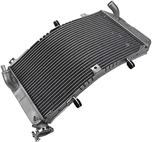 2021 Mallofusa Motorcycle Aluminum Cooler Radiator Cooling Compatible for Suzuki GSXR600 GSXR750 2001 2002 2003 new arrival GSXR1000 2000 discount 2001 2002 Silver sale