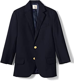 Lands' End School Uniform Boys Hopsack Blazer
