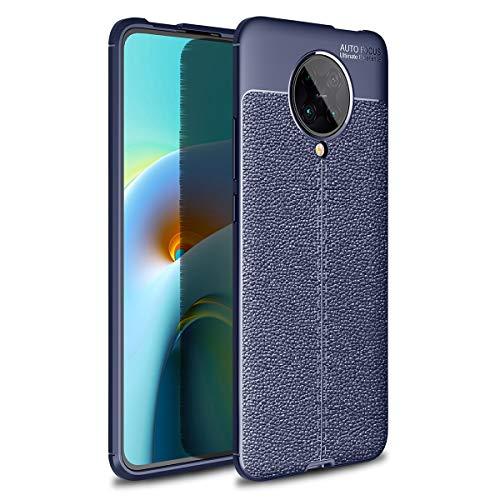 MOONCASE Funda para Redmi K30 Ultra, Estuche Ultra Delgado Antiarañazos a Prueba de Golpes Estuche Protector de TPU Suave para el Teléfono para Xiaomi Redmi K30 Ultra 6.67' -Azul