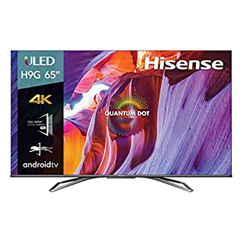 Hisense 65-Inch Class H9 Quantum Series Android 4K ULED Smart TV with Hand-Free Voice Control  65H9G 2020 Model