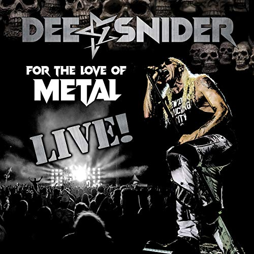 For The Love of Metal - Live (CD/DVD/BluRay)