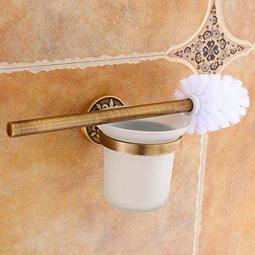 Laiton couleur brosse de toilette Vintage pendentif espace en aluminium maison mur suspendu salle de bains matériel Rollsnownow