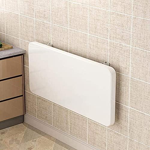 DZCGTP Mesa Blanca Multifuncional Plegable, Estante de partición de Almacenamiento Flotante para Sala de Estar/Estudio/Dormitorio/Cocina/baño