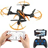 SUPER TOY 360p Altitude Hold Wi-Fi Camera RC Flying Drone Quadcopter channel helicopter Dec, 2020