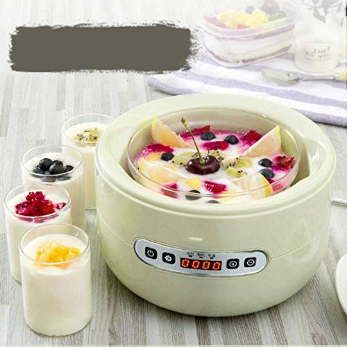 Best Deals! Yogurt Machine Yogurt Machine Household Small Fully Automatic Mini Multi-Functional Home...