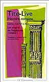 Histoire romaine, livres XXXVI à XL - Flammarion - 04/01/1999