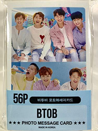 BTOB ビートゥービー グッズ / フォト メッセージカード 56枚 (ミニ ポストカード 56枚) セット - Photo Message Card 56pcs (Mini Post Card 56pcs) [TradePlace K-POP 韓国製]